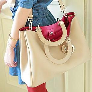Vintage Bag PU Handbag Messenger Ba..