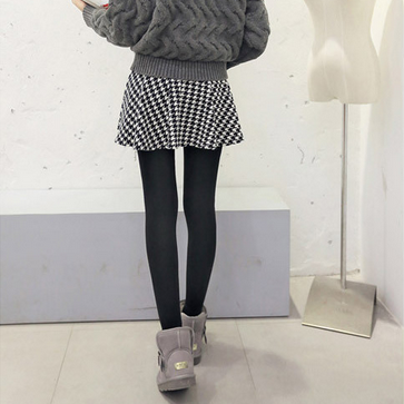 Winter Leggings printing fake two p..