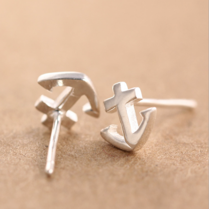 925 Sterling Silver Earrings Sterli..