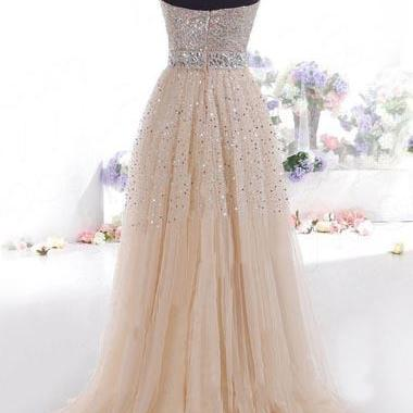 Beautiful Off The Shoulder Sequined..