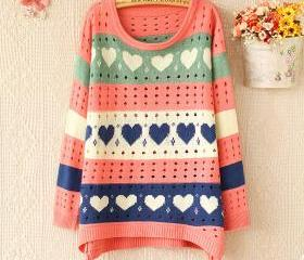 Fashion PINK Heart H..