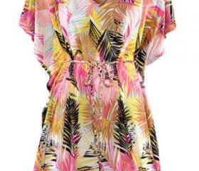 Tropical Printed Bea..