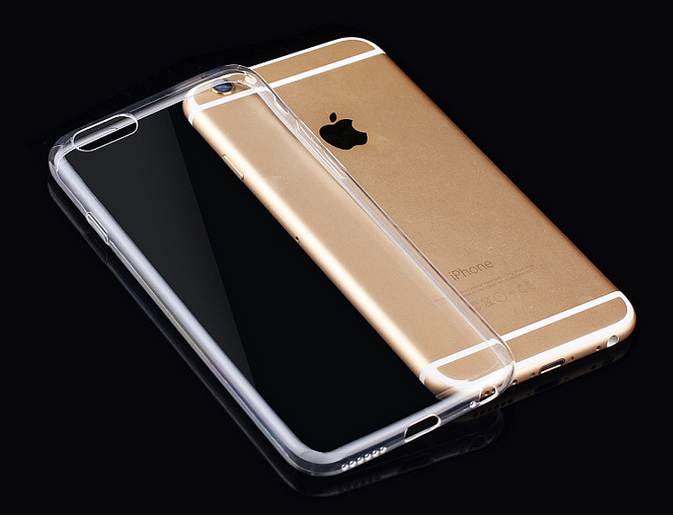 Mobile phone shell IPhone6 mobile phone shell transparent protective TPU4.7/5.5 inch