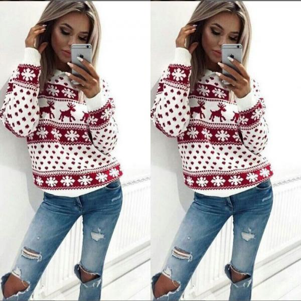 Women's Christmas Winter Fashion Sweater