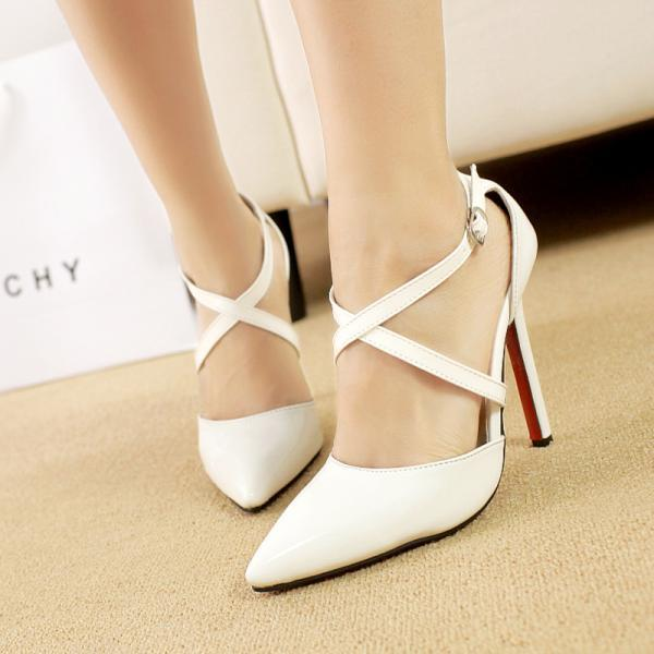 Women's Strap Pointed High Heels